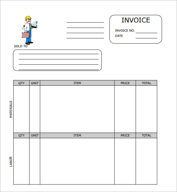 excel invoice template downloads .