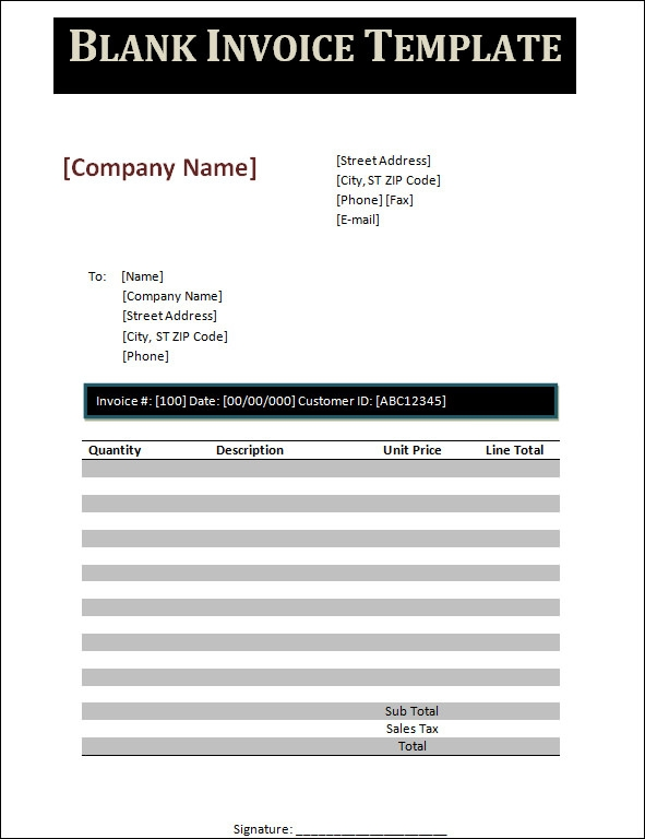 bill for services rendered template .