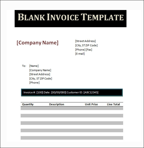 Create invoice template in word hardhostinfo for Making invoices on word