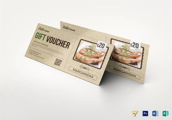 editable food coupon template