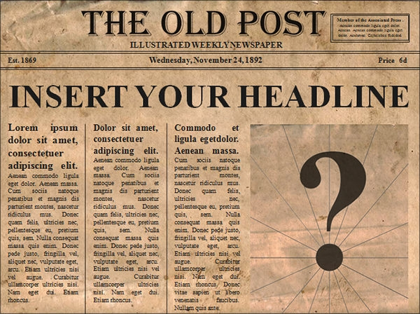 42+ Amazing Newspaper Templates | Sample Templates