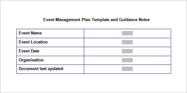 event management plan template1