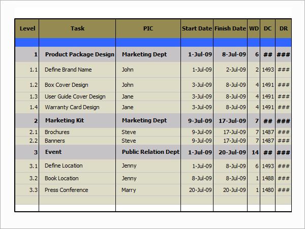 excel gantt chart template1