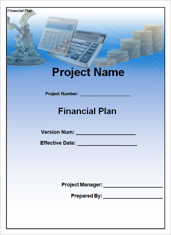 financial plan template 21
