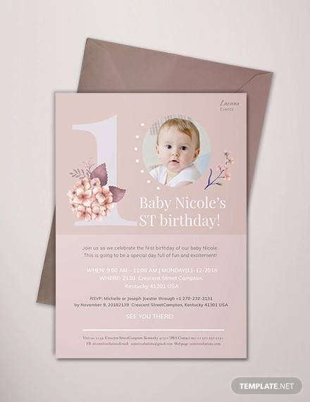 FREE 63+ Printable Birthday Invitation Templates inAI MS Word Pages PSD Publisher