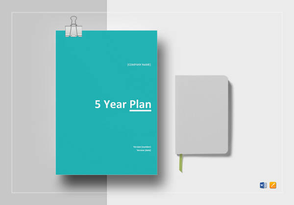five year planner template