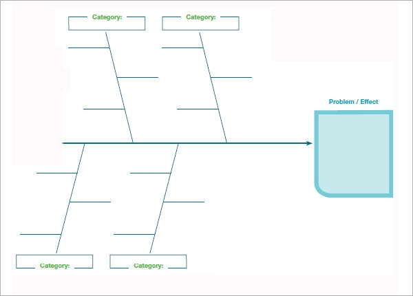 fishbone diagram template powerpoint - Fishbone Diagram Template For Word