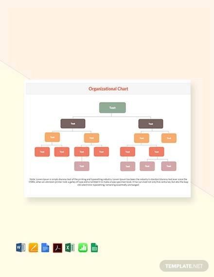 free organizational chart template1