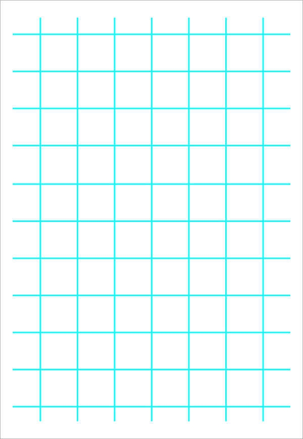 10  printable blank graph paper templates