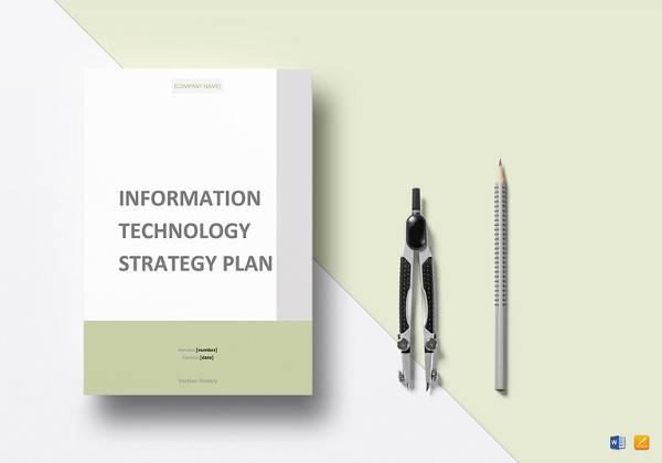 it strategy plan template