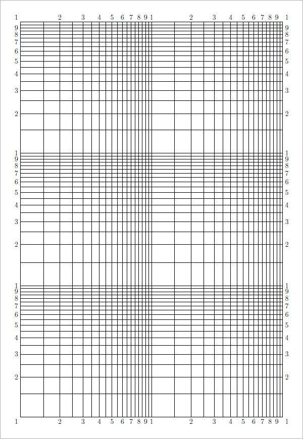 Sample Blank Graph Paper   Free Documents In Pdf