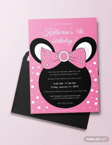 FREE 63+ Printable Birthday Invitation Templates in PDF