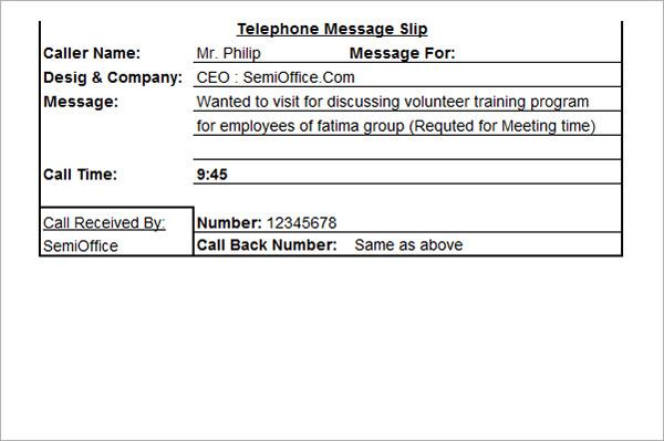 customer call back template