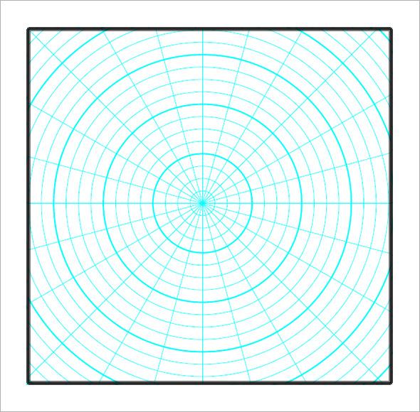polar graph paper2
