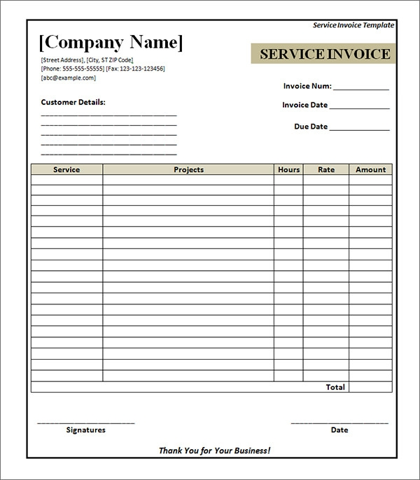 Hucareus  Wonderful Service Invoice   Download Documents In Pdf Word Excel Psd With Likable Free Printable Service Invoice Template With Comely Basic Invoice Template Also How To Send An Invoice In Addition Free Invoicing Software And Invoice Price Car As Well As Invoice Financing Additionally Template For Invoice From Sampletemplatescom With Hucareus  Likable Service Invoice   Download Documents In Pdf Word Excel Psd With Comely Free Printable Service Invoice Template And Wonderful Basic Invoice Template Also How To Send An Invoice In Addition Free Invoicing Software From Sampletemplatescom
