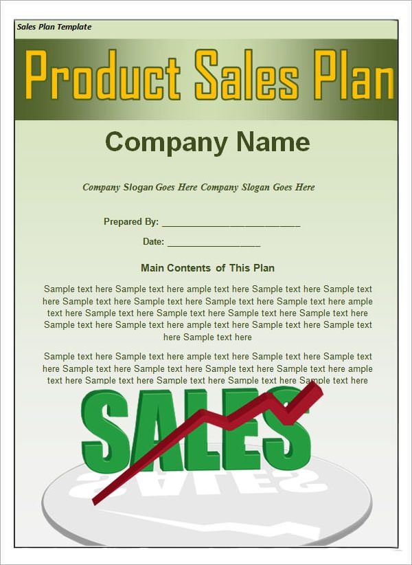 Sample Sales Plan Template 17 Free Documents in PDF RTF PPT – Sample Territory Sales Plan