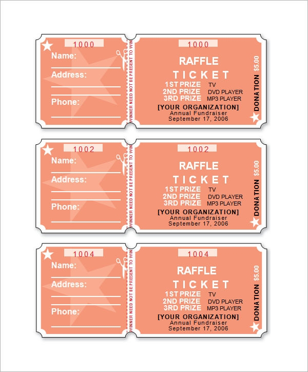 raffle ticket templates1