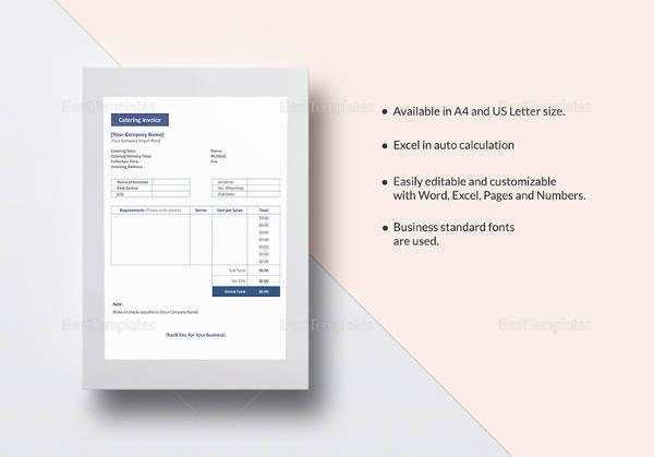 52  sample blank invoice templates
