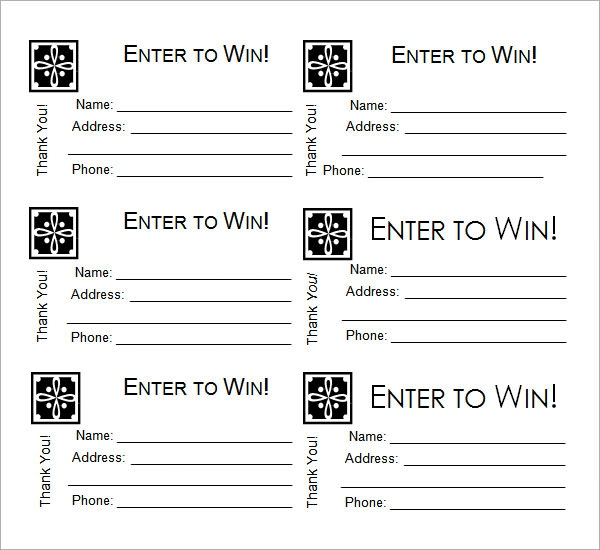 Free Printable Raffle Ticket Templates     Blank Downloadable PDFs N2PkVvuT