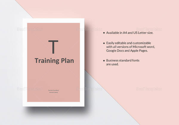 Sample Training Plan Template Download
