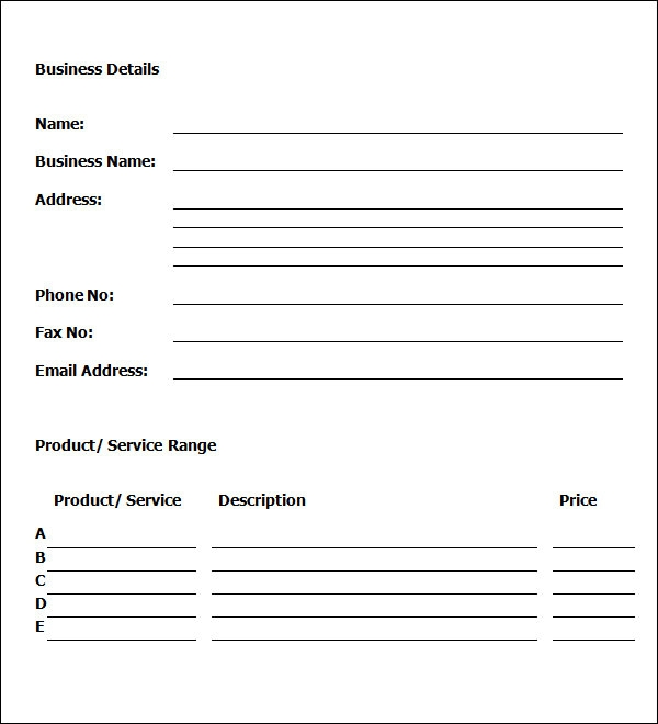 sample business proposal template .