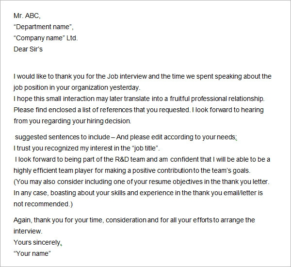 Group interview thank you letter example icover phone interview 5 professional thank you letter expense report expocarfo Gallery