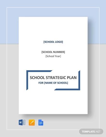 school strategic plan template1