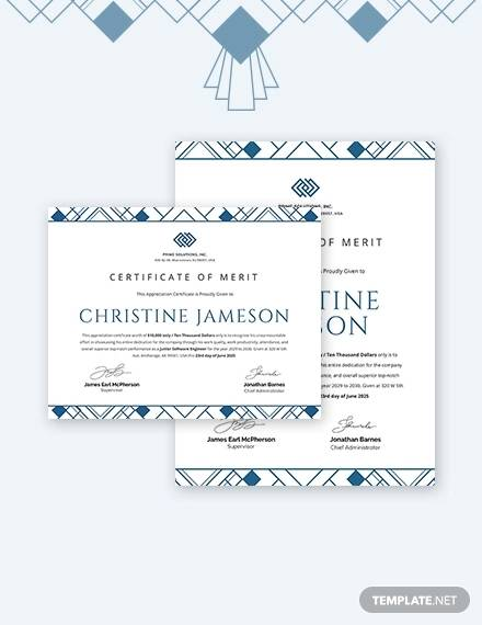 simple appreciation certificate template for employee