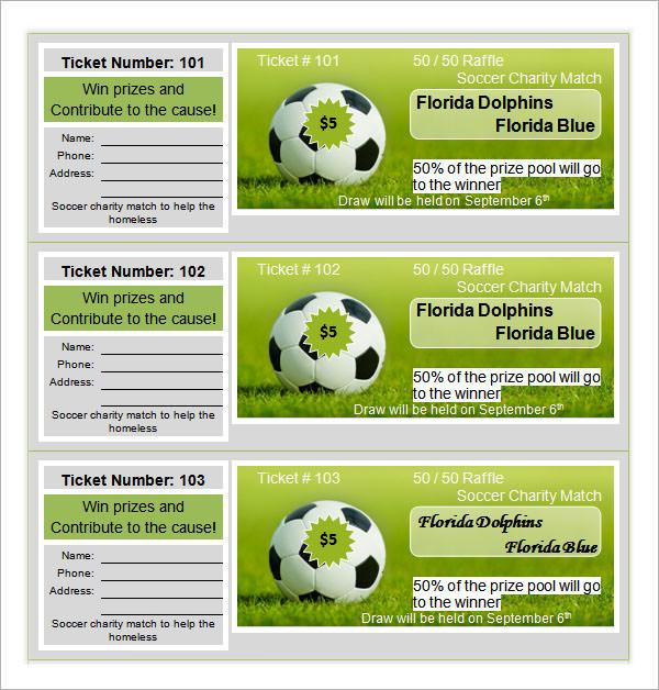 free printable raffle ticket templates .