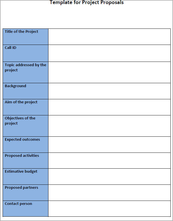 sample business proposal templates free .