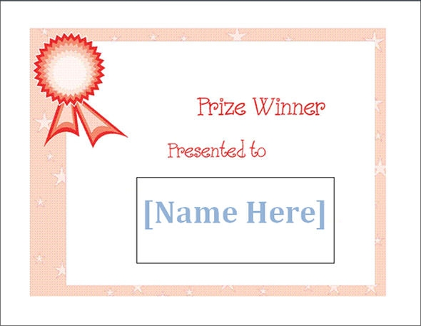 24 printable sample certificate templates sample templates winner certificate template yelopaper Images