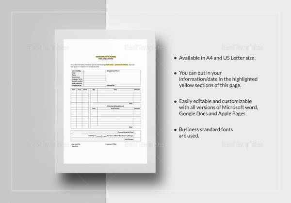 23 Order Form Templates Download Sample Templates