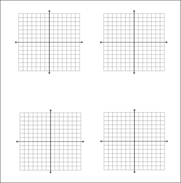 5 Math Graph Papers – Graph Paper Templates