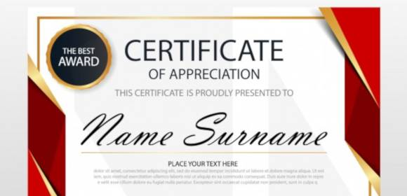Free 35 Best Printable Certificate Of Appreciation