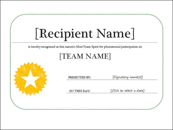 Award Certificate Template 29 Download in PDF Word Excel PSD – Free Award Template