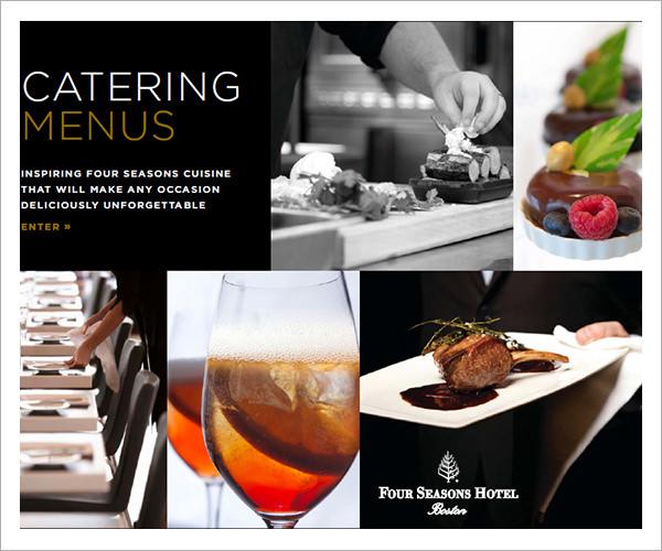 14 banquet menu templates sample templates for Gourmet dinner menu ideas