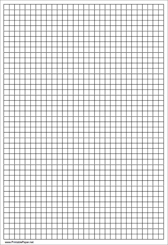 graph paper template – Engineering Graph Paper Template