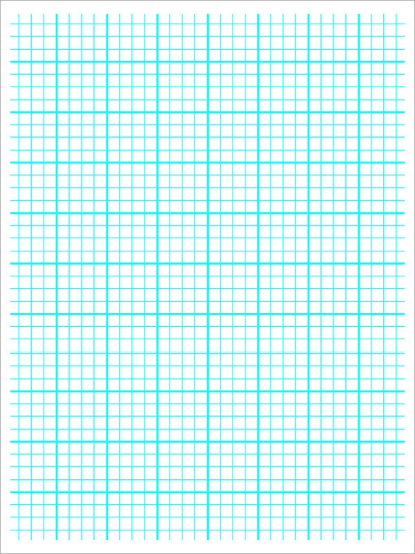 10+ Printable Blank Graph Paper Templates