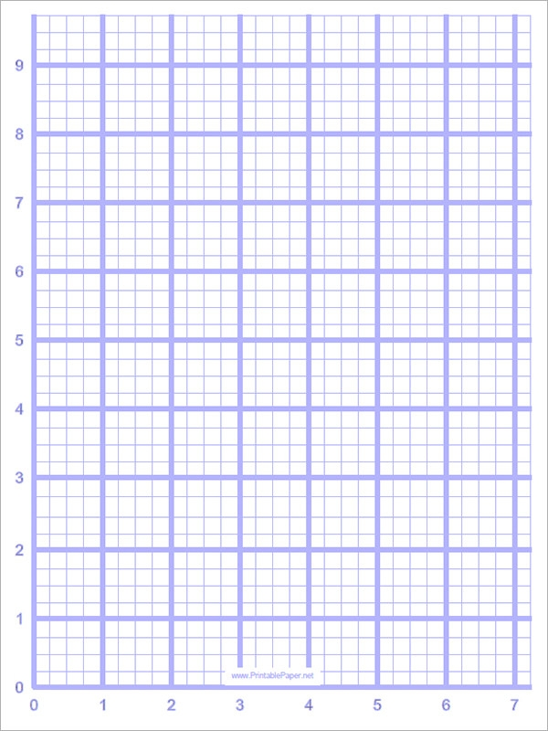 Sample Blank Graph Paper 9 Free Documents in PDF – Grid Paper Template