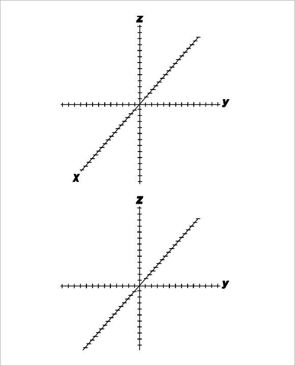7  3d graph paper