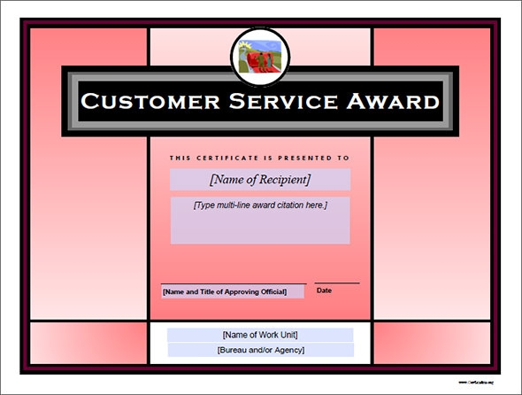 Award Certificate Template   Download In Pdf Word Excel Psd
