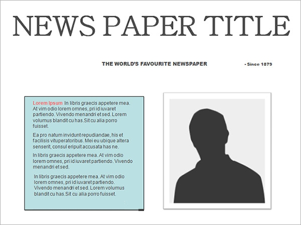 free 53  amazing newspaper templates in pdf