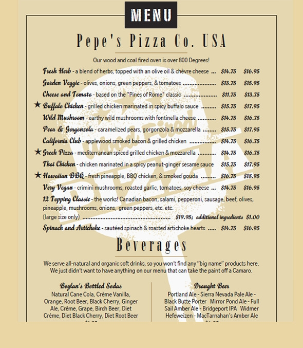 Sample Menu Card 42 Download In Psd Pdf Word