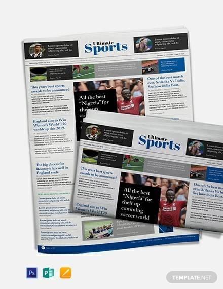 free sports newspaper