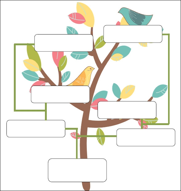 Sample genogram template 15 free documents in pdf word for Family tree template for mac