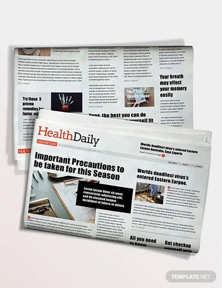health news paper