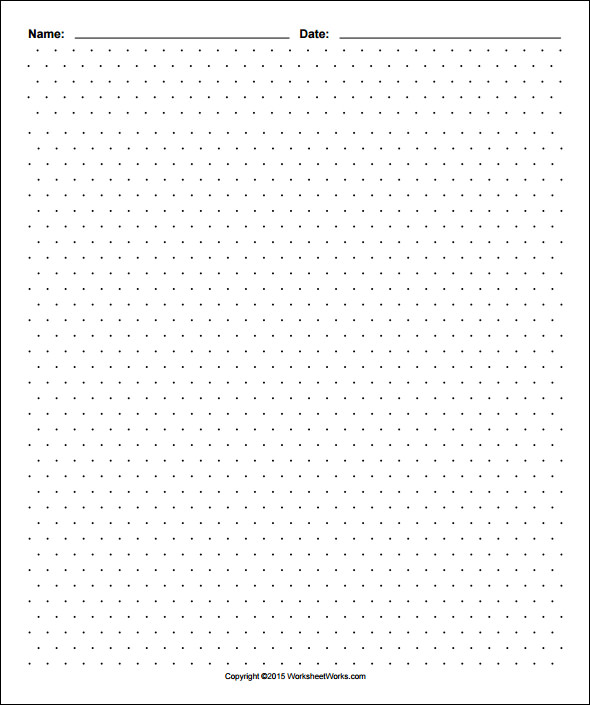 photo relating to Free Printable Dot Grid Paper titled Totally free 12+ No cost Printable Isometric Graph Paper inside of PDF