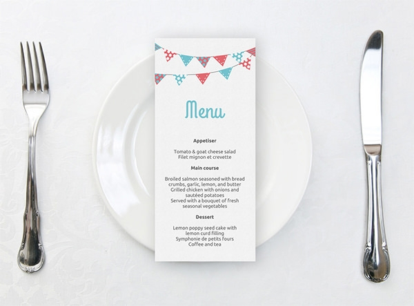 17+ Sample Dinner Party Menu Templates