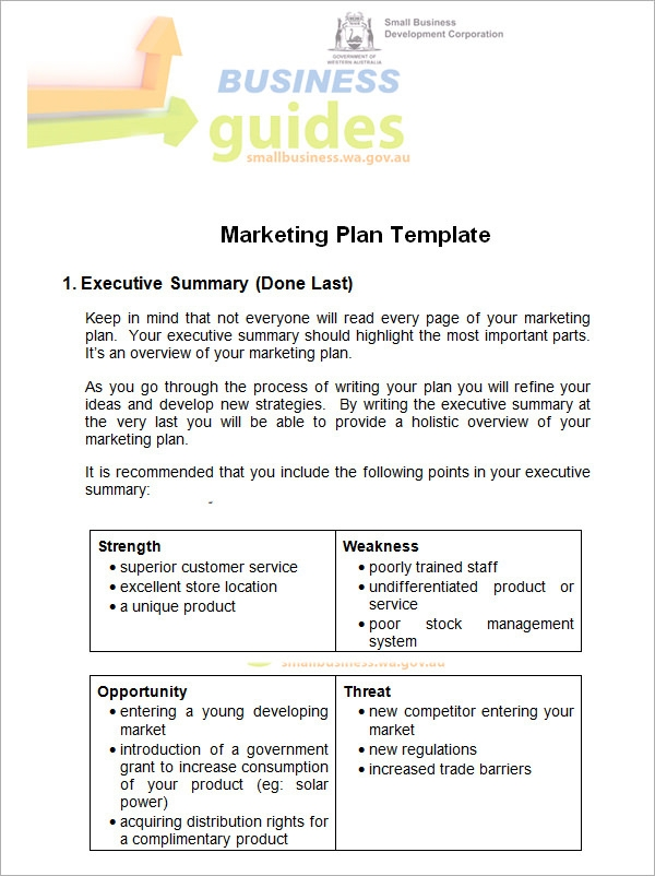 14 sample marketing plan templates sample templates marketing plan example maxwellsz