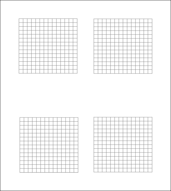 how to draw 1 inch square grid in photoshop